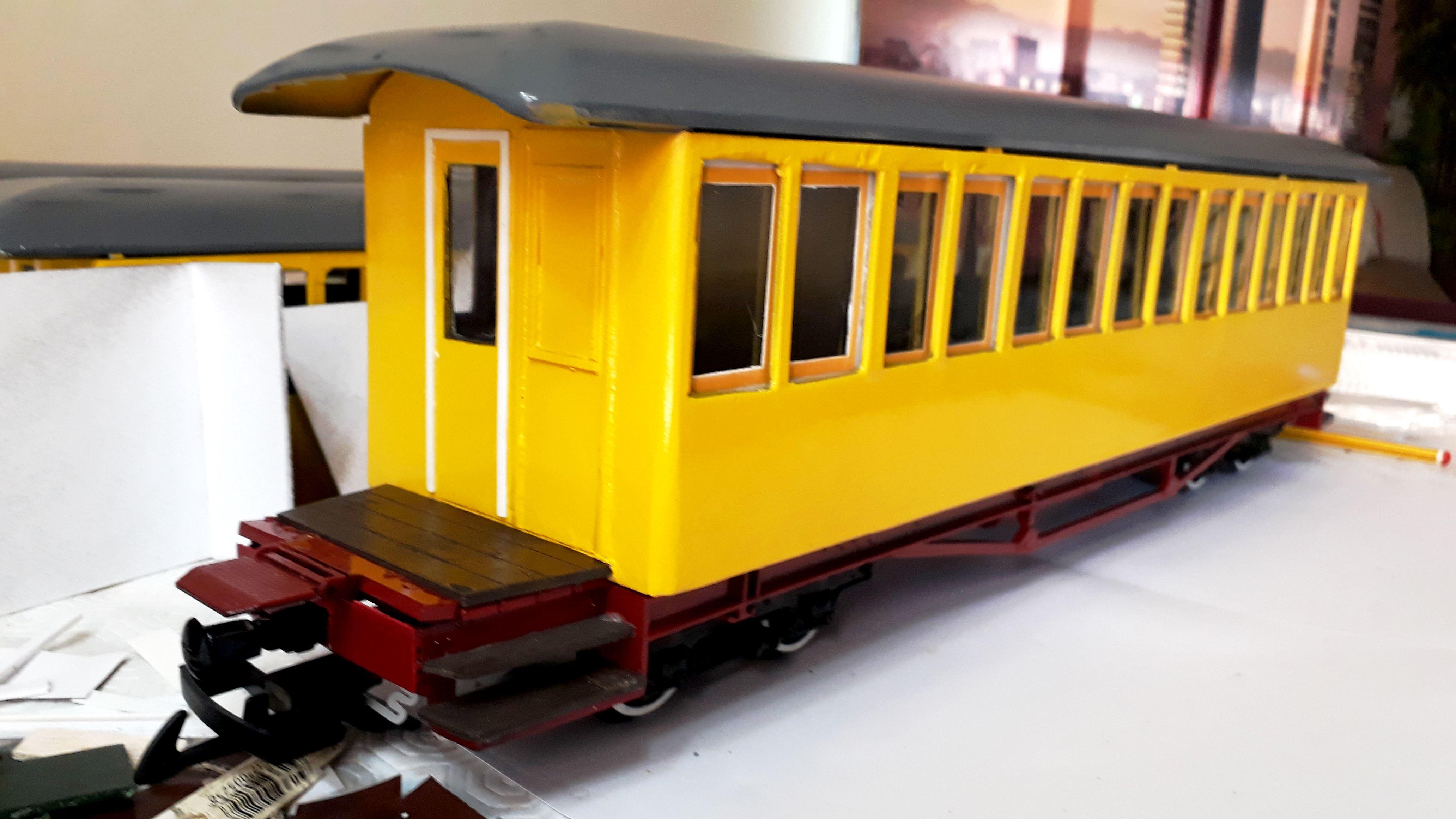 Construcció dels cotxes de viatgers Carcaixent-Dénia (Limón Exprès) a partir de vagons LGB - Página 4 Img-2027