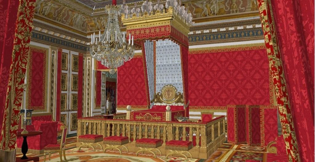 -  MBAM expo : Napoléon, art et vie de cour au palais impérial - Page 2 Chambr27