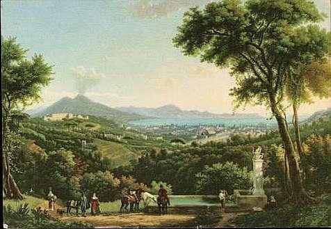 Le Vésuve, décrit par les contemporains du XVIIIe siècle - Page 5 Naples10
