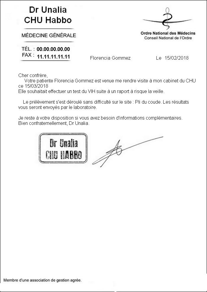 [CHU] Rapports D'actions RP de Unalia59 Compte19