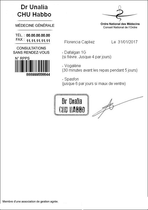 [CHU] Rapports D'actions RP de Unalia59 Ordonn16