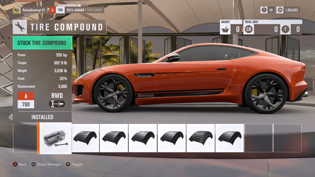 FH3 Time Attack | Stock Car Challenge #26 (2015 Jaguar F-Type R Coupe) 767f9f11