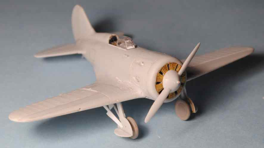 Polikarpov I-16. Du proto au I-185. P&J, Amodel, ICM , ArtModel , Eastern Express MSD 1/72.  - Page 2 24_cm-10