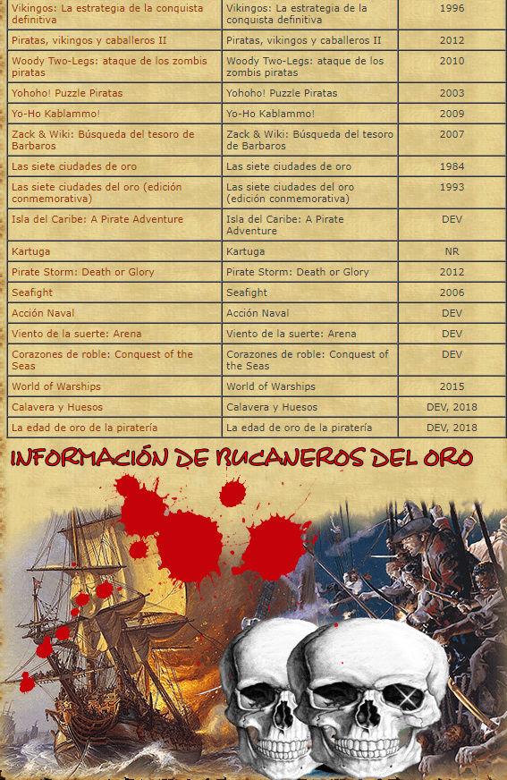 TODOS LOS JUEGOS DE PIRATAS EXISTENTES 911