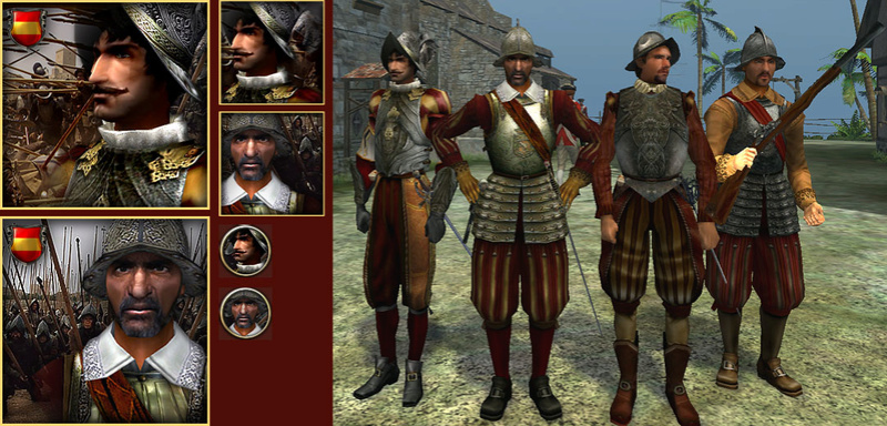 reemplazando a los soldados de infantería españoles Spain_10