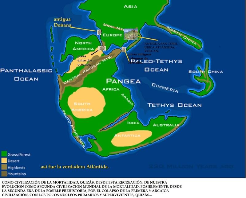 ¿OTRA ERUPCIÓN COMO LA MÍTICA SAN TORINI? Pangea11