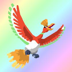 [GRABOUILLAGES] Quelques Pokémons... Ho-oh10