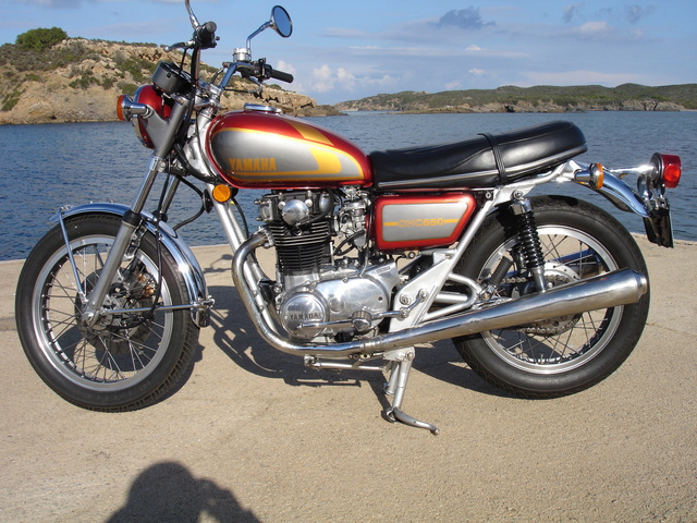 Yamaha XS 650 Dsc06810