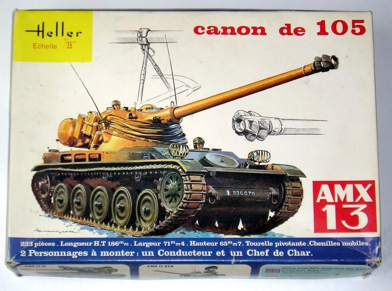 AMX 13 canon de 105 1/35ème Réf L 781 13-10513