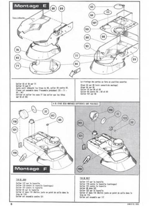 AMX 13 canon de 105 1/35ème Réf L 781 13-10514