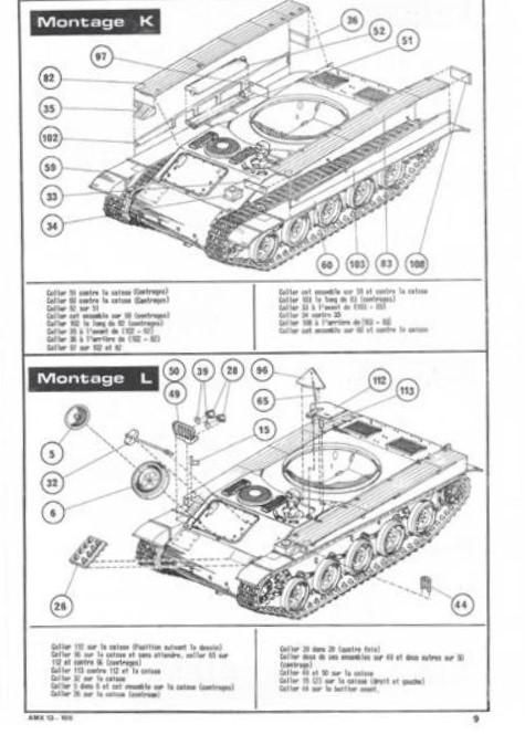 AMX 13 canon de 105 1/35ème Réf L 781 13-10515