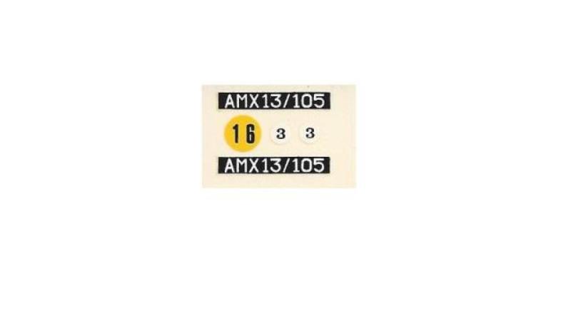 AMX 13 canon de 105 1/35ème Réf L 781 13-10519