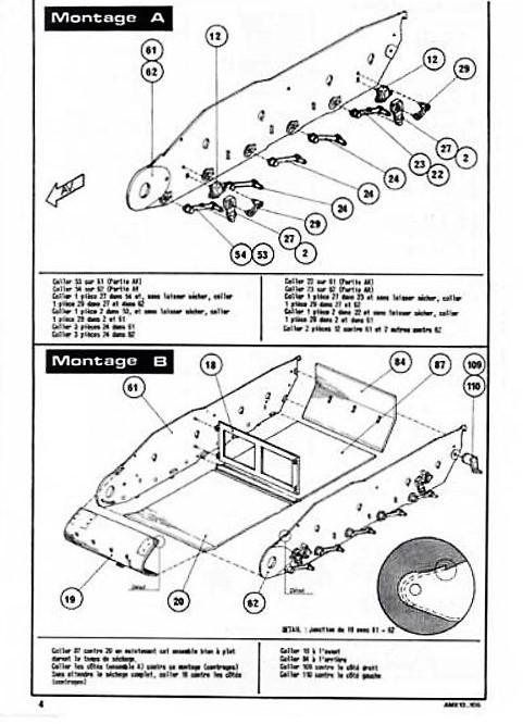 AMX 13 canon de 105 1/35ème Réf L 781 13-10520