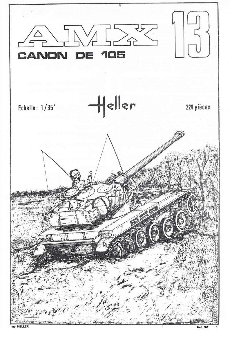 AMX 13 canon de 105 1/35ème Réf L 781 13-10523
