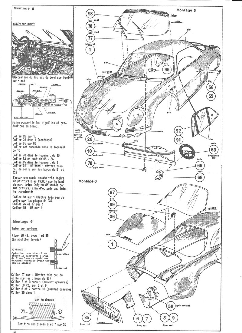 ALPINE 1600 S - 1/24 - REFERENCE : L761 - NOTICE  Alpine16