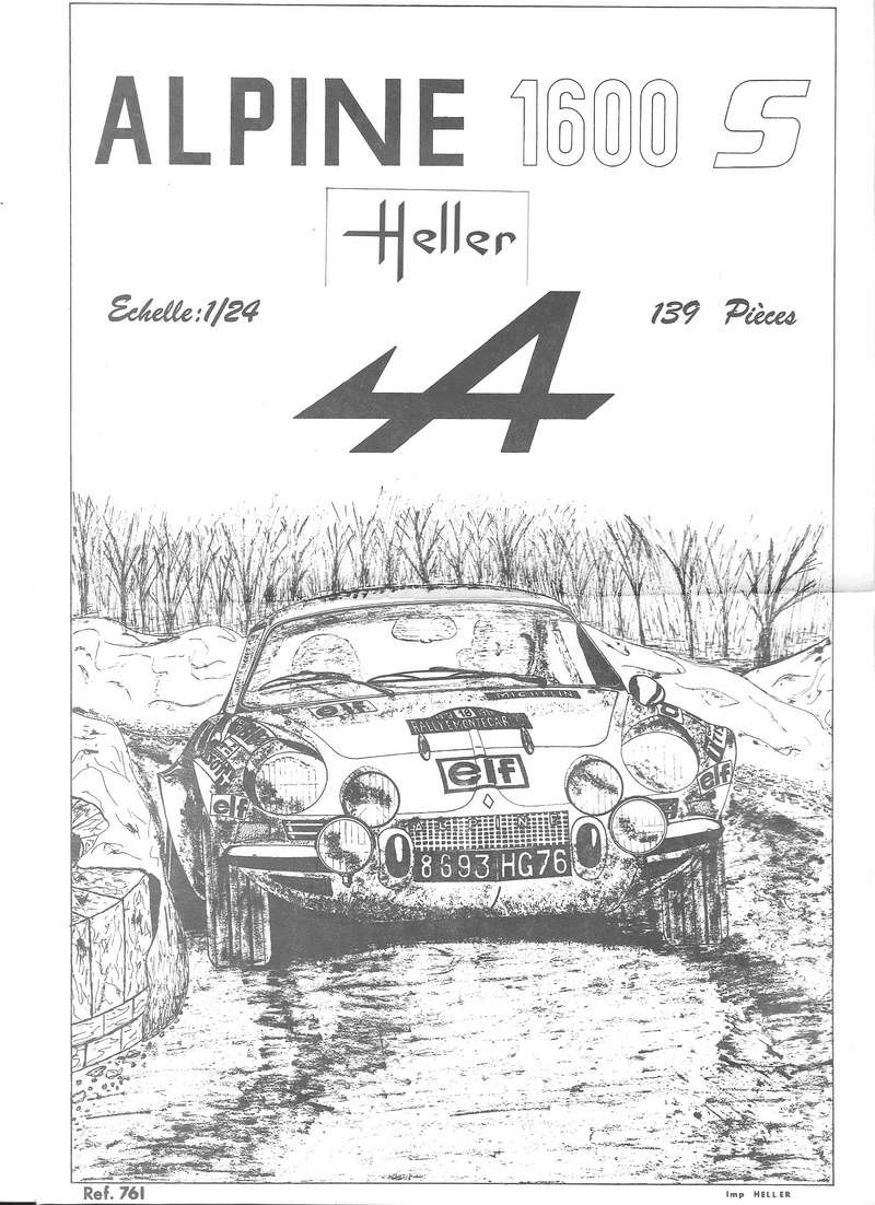 ALPINE 1600 S - 1/24 - REFERENCE : L761 - NOTICE  Alpine17