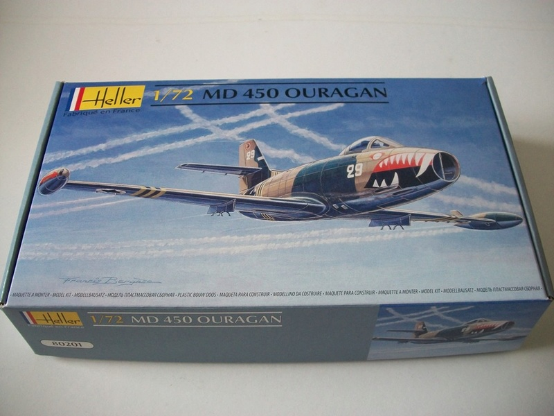 Dassault  MD 450 Ouragan ( Réf. 80201) 1/72 Md_our10