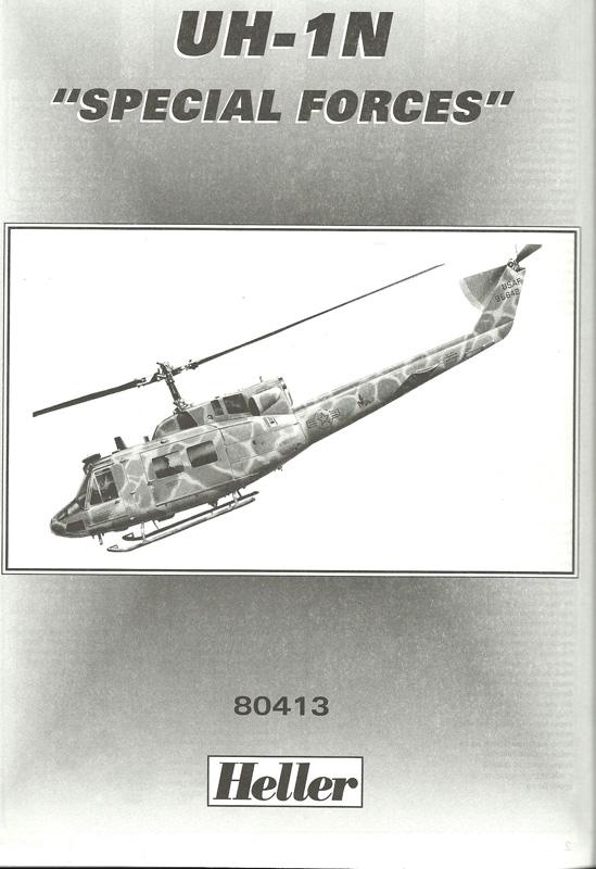 BELL UH-1N IROQUOIS 1/48ème Réf 80413 Uh-1n810