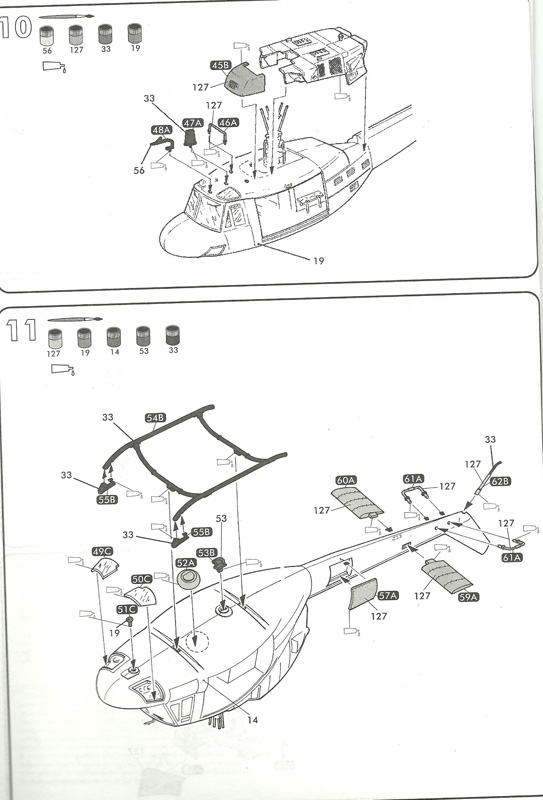 BELL UH-1N IROQUOIS 1/48ème Réf 80413 Uh-1n815