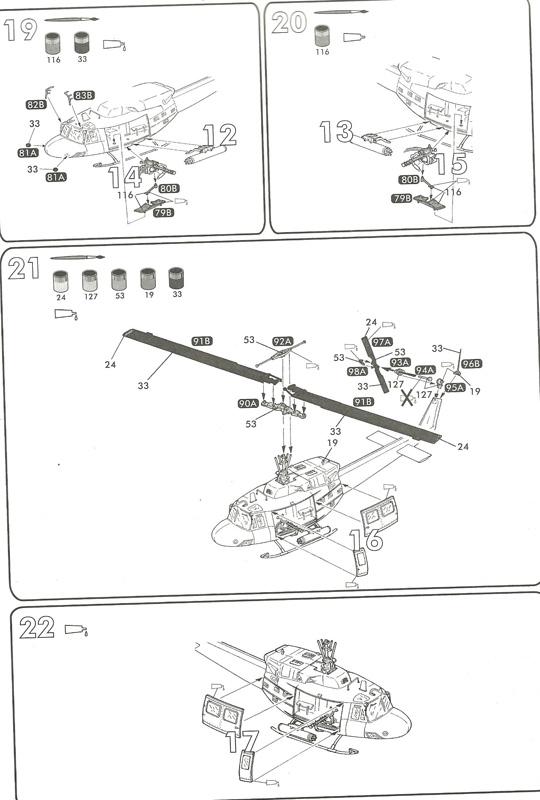 BELL UH-1N IROQUOIS 1/48ème Réf 80413 Uh-1n816