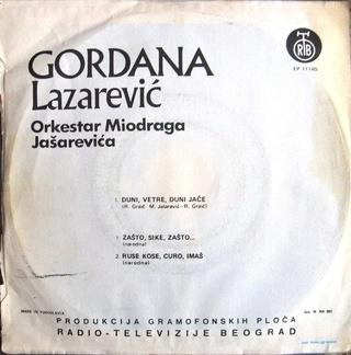 Gordana Lazarevic - Diskografija 1973_z10
