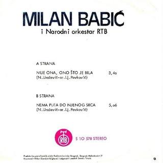 Milan Babic - Diskografija 2 1978_z10