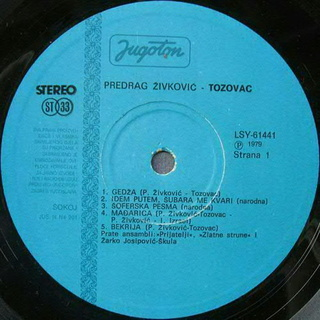 Predrag Zivkovic Tozovac - Diskografija 1979-210