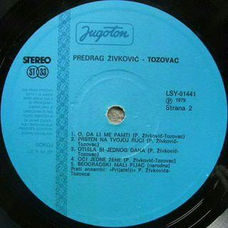Predrag Zivkovic Tozovac - Diskografija 1979-211