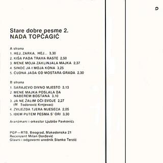 Nada Topcagic - Diskografija 1980-411