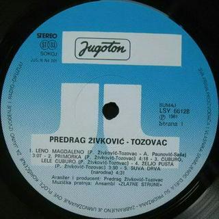 Predrag Zivkovic Tozovac - Diskografija 1981-210