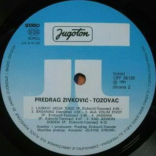 Predrag Zivkovic Tozovac - Diskografija 1981-211