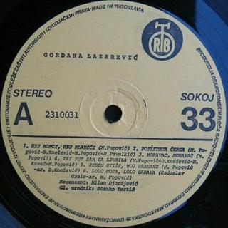 Gordana Lazarevic - Diskografija 1981_z19