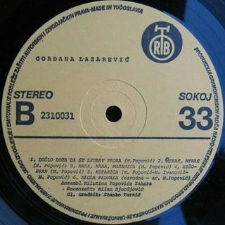 Gordana Lazarevic - Diskografija 1981_z20