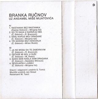 Branka Rucnov - Diskografija  1982_z14