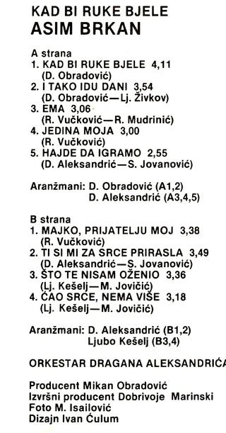 Asim Brkan - Diskografija 2 1983_k14