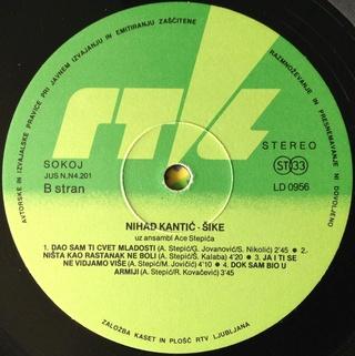 Nihad Kantic Sike - Diskografija  1983_v16