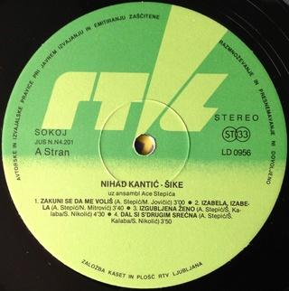 Nihad Kantic Sike - Diskografija  1983_v17