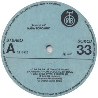 Nada Topcagic - Diskografija 1983_z10