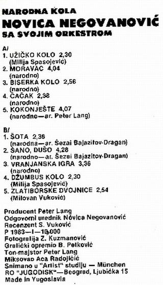 Novica Negovanovic - Diskografija - Page 2 1983_z15