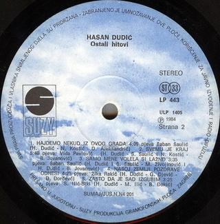 Hasan Dudic - Diskografija 1984-113