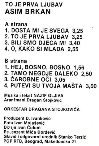 Asim Brkan - Diskografija 2 1984_k16