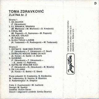 Toma Zdravkovic - Diskografija 1986_k11