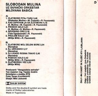 Slobodan Mulina - Diskografija  - Page 2 1987_k15