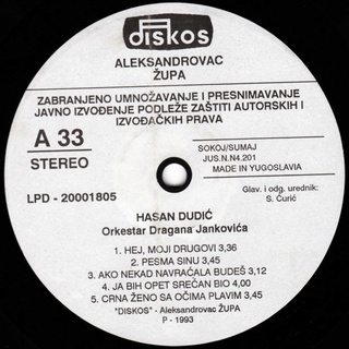 Hasan Dudic - Diskografija 1993_z11