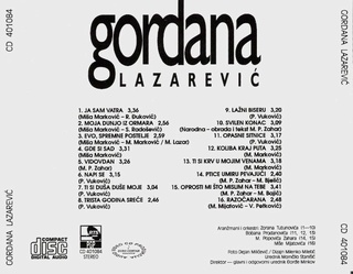 Gordana Lazarevic - Diskografija 1994_c13