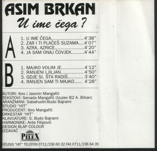 Asim Brkan - Diskografija 2 1995_k11