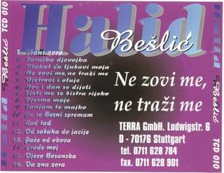 Halid Beslic - Diskografija 1996-211