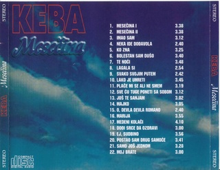 Dragan Kojic Keba - Diskografija 1996_m12
