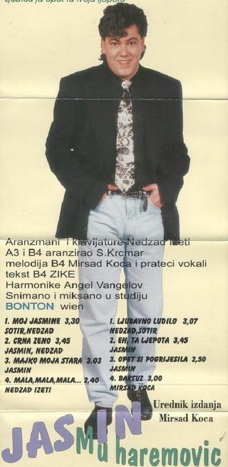 Jasmin Muharemovic - Diskografija 1996_z10