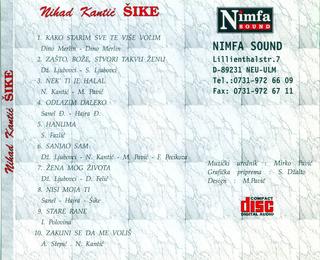 Nihad Kantic Sike - Diskografija  1996_z15